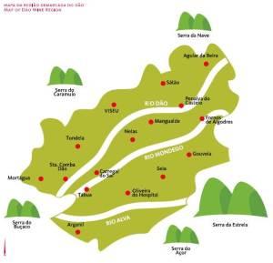 Mapa Dao