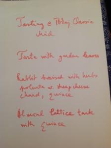 Um menu completo para harmonizar com Tokaji.