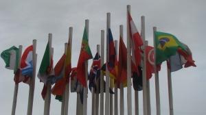 Os países participantes.