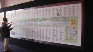 Mapa da feira.