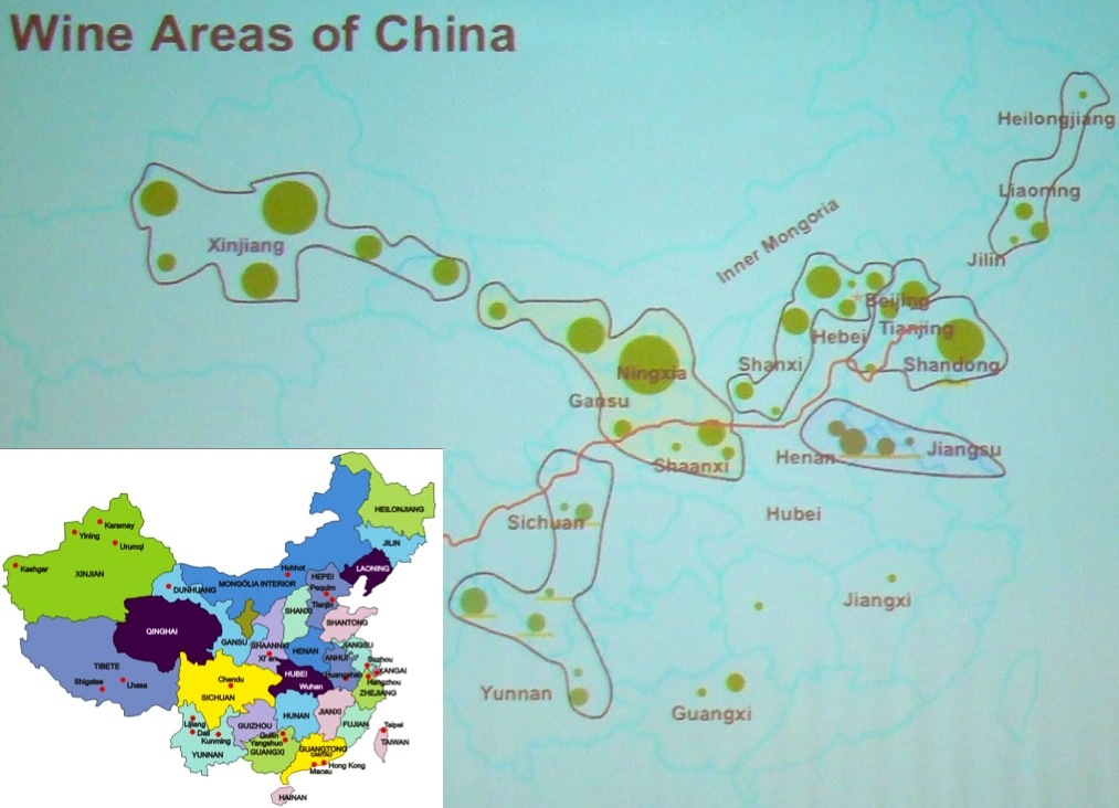 Resultado de imagem para vinicolas na china