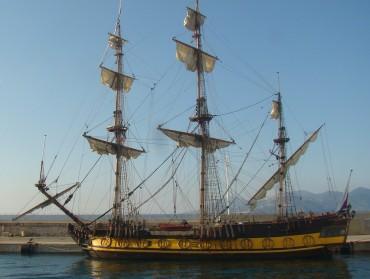 Por um segundo achei que os piratas haviam voltado. Ufa!