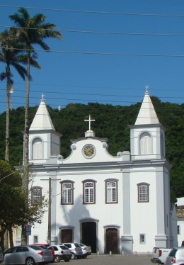 Igreja onde Anita Garibaldi se casou com o primeiro marido, Manoel.