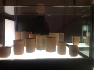 Copos encontrados em naufrágio do fim no século 1 AC