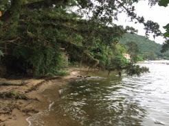A Lagoa da Conceição.